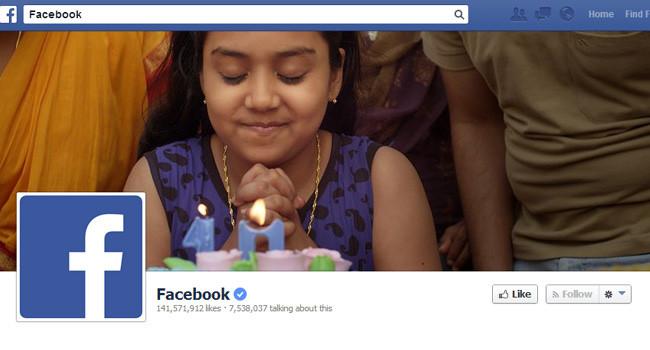 Couverture Facebook de Facebook