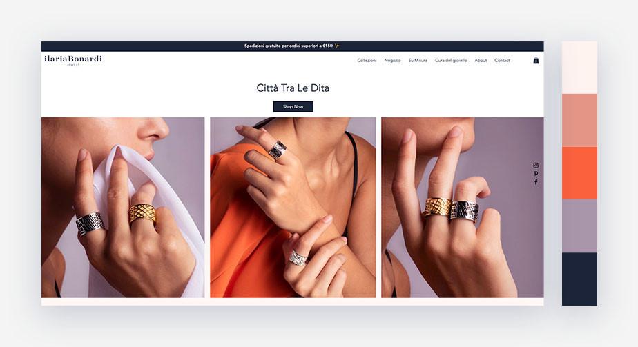 50 paletas de cores para o seu site: quente + frio