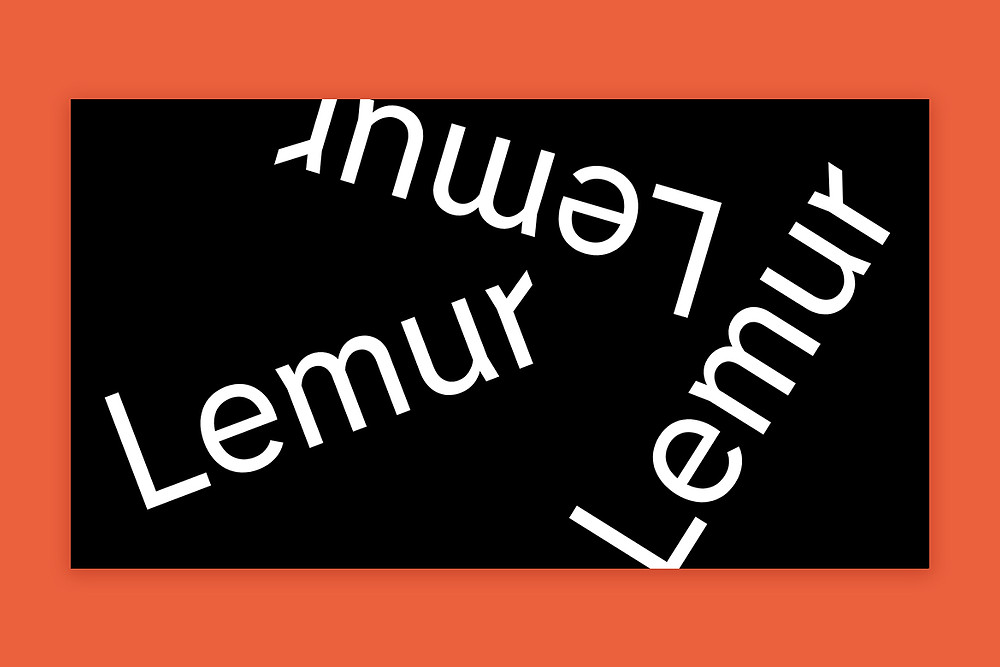 Lemur typeface by Tightype