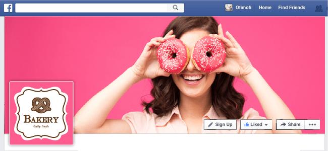 Couverture Facebook boulangerie