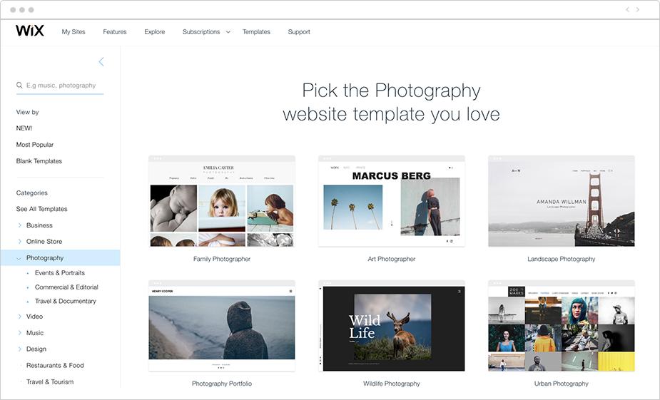 Jak zostać fotografem Krok 11 - Przygotuj profesjonalne strony internetowe