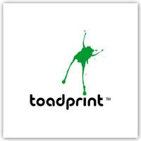 Великие логотипы - Toad print