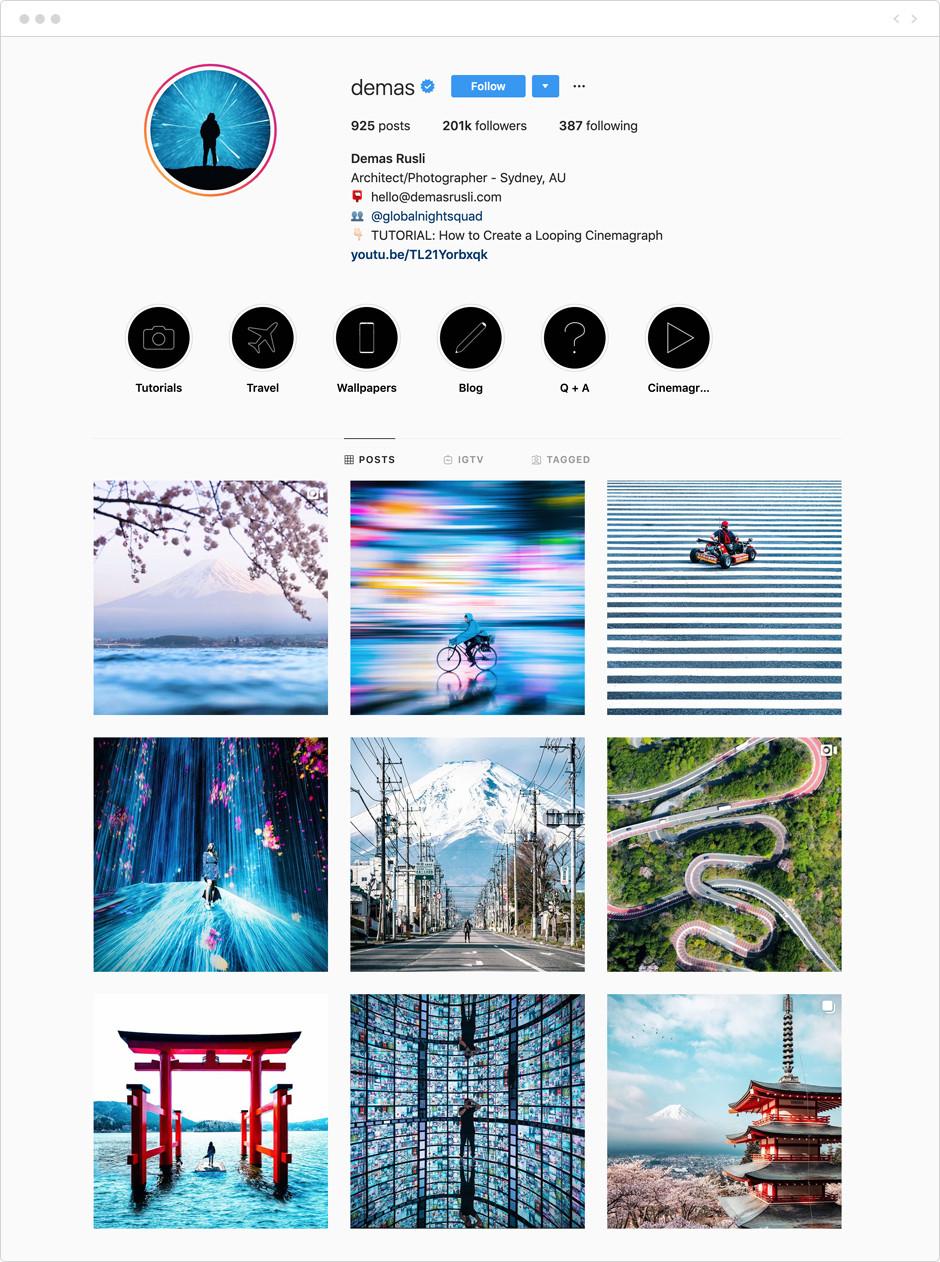 Demas Rusli - Photographes à suivre sur Instagram