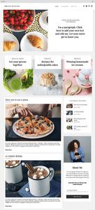 шаблон для кулинарного блога