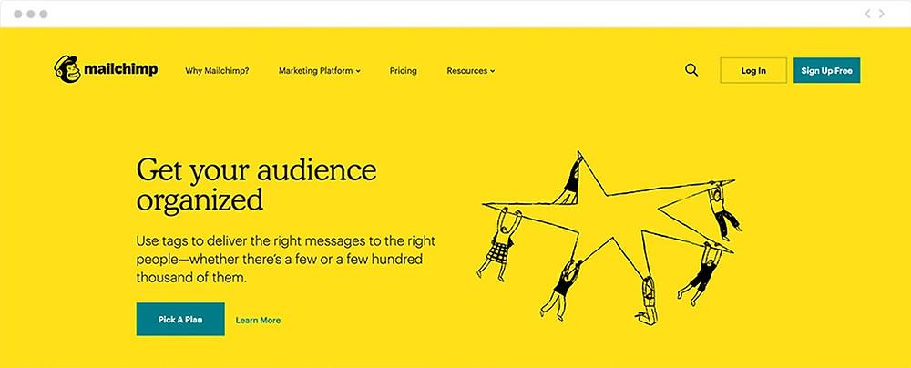 Web de MailChimp