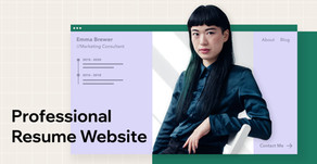 How to Make a Professional Resume Website in Record Time