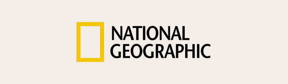 National Geographic Logo als Beispiel für modernes Logodesign