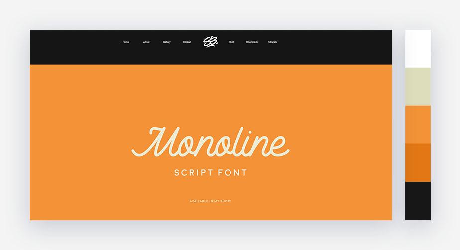 50 paletas de cores para o seu site: surpreendentemente eletrizante