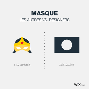 Blague de designers - Masque