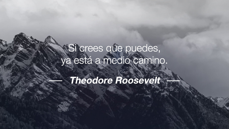 Frase de Theodore Roosevelt