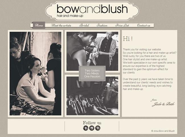 Студия визажа Bow and Blush