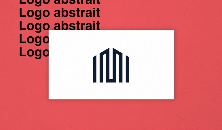 exemple de logo abstrait