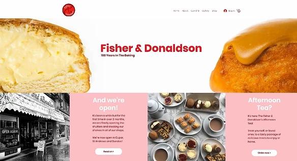 Главная страница сайта семейной пекарни