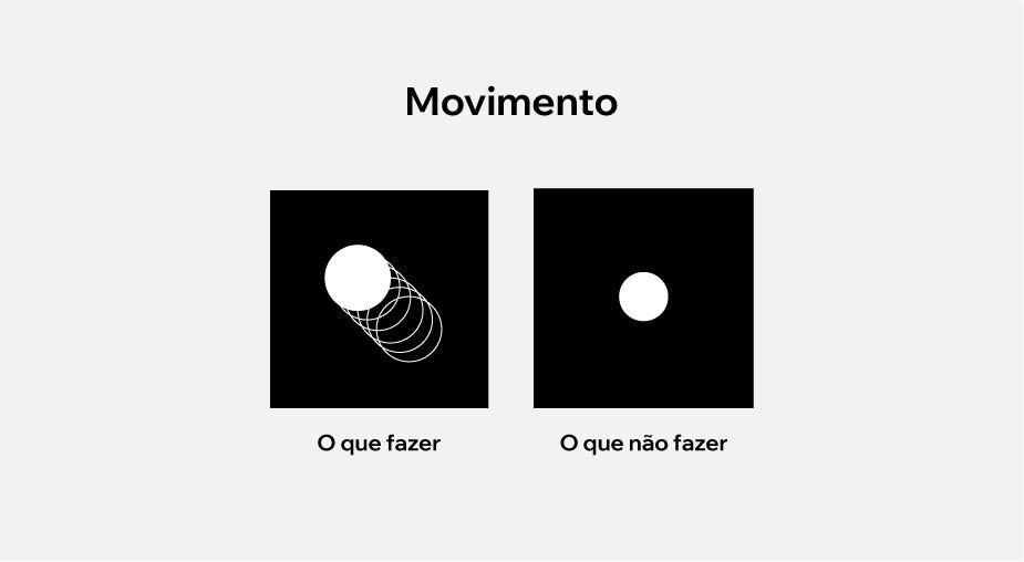 Um dos princípios do design: movimento