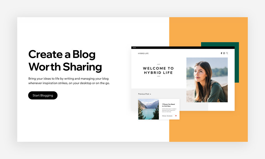 создание блога для онлайн курса