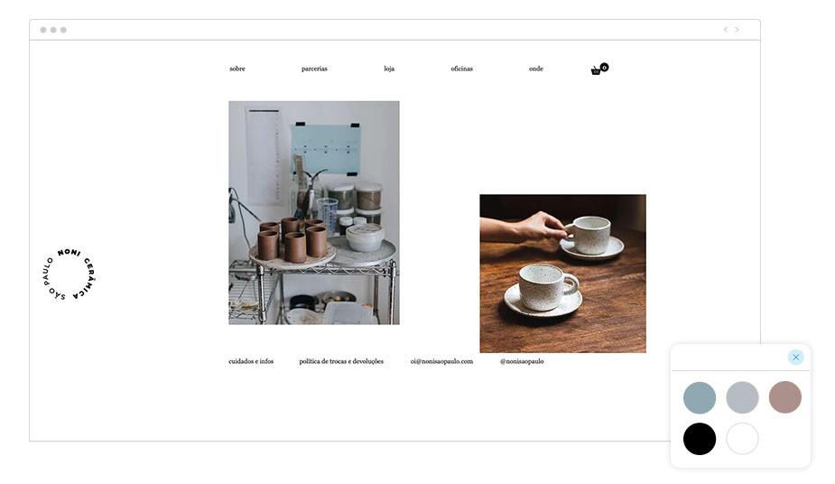 Página web wix de Noni São Paulo