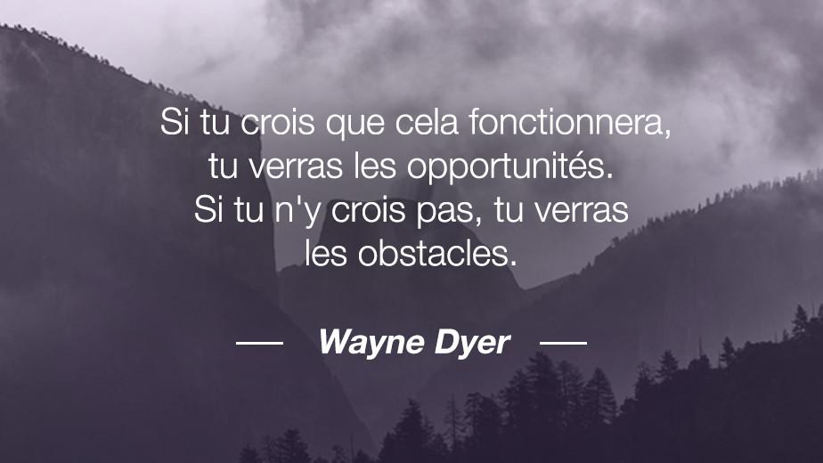 Citation Wayne Dyer