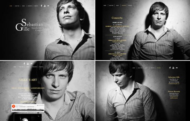 Sebastian Gille website