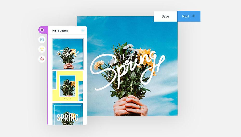 인스타그램에서 피드 디자인 컨셉을 잡는 이미지