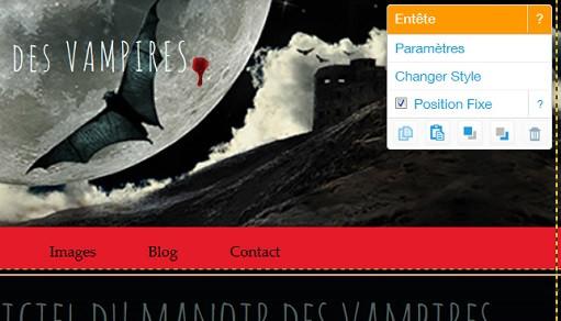 Tendance web design – Fixez l'entête de votre site