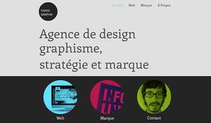 Agence de Design et Graphisme Template de Site WIX