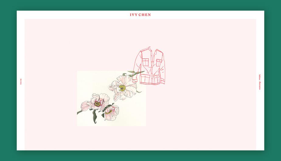 Best website design by Ivy Chen