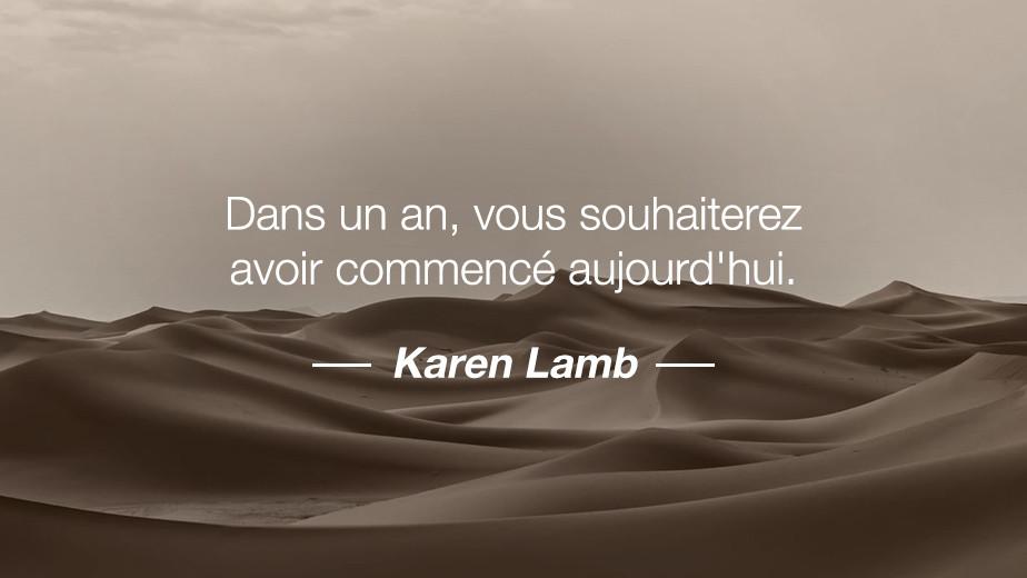 Citation Karen Lamb