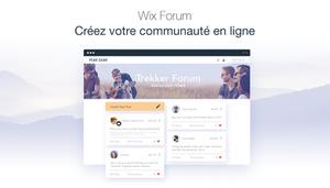 Faites grandir votre communauté avec Wix Forum