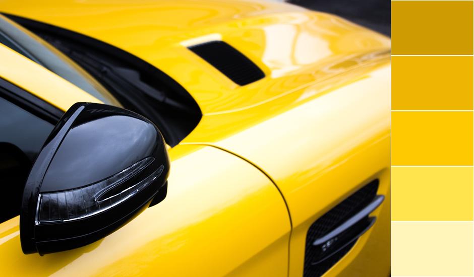 Желтый цвет, значение желтого цвета