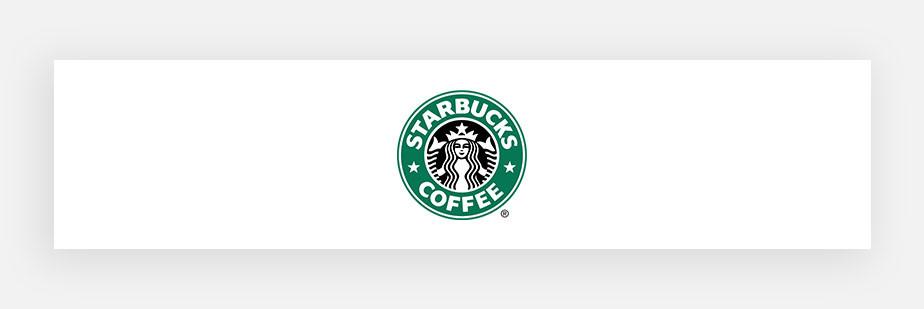 Примеры известных логотипов: Starbucks