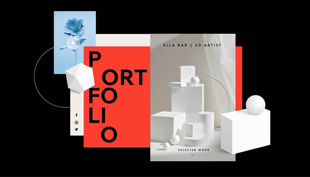 Portfolio design: come creare un portfolio online