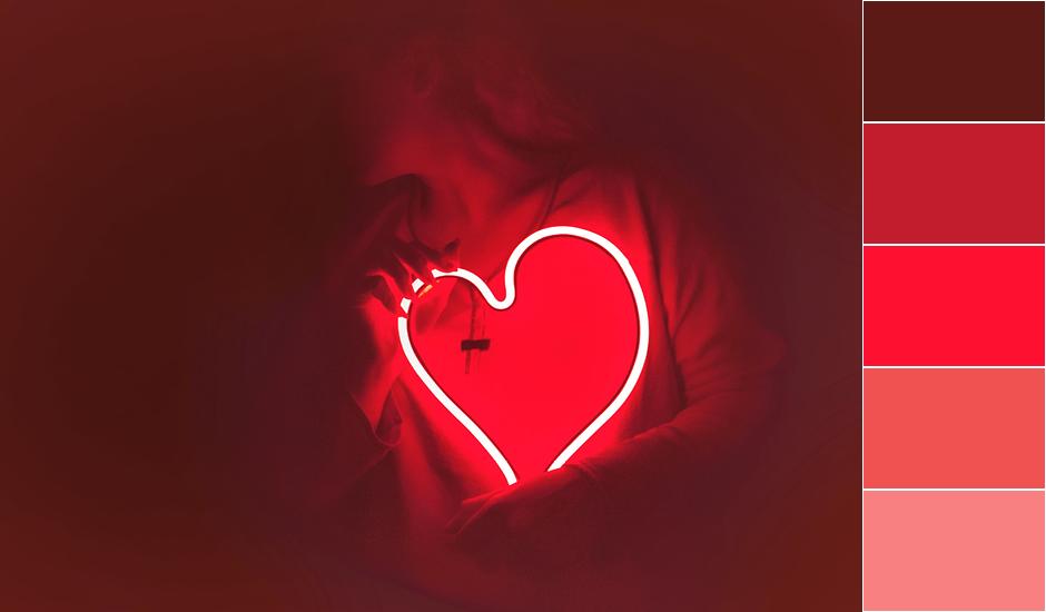 Красный цвет, значение красного цвета