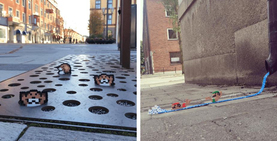 Pappas Pärlor: Sidewalk Art