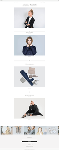 template gratuit blog mode fashion