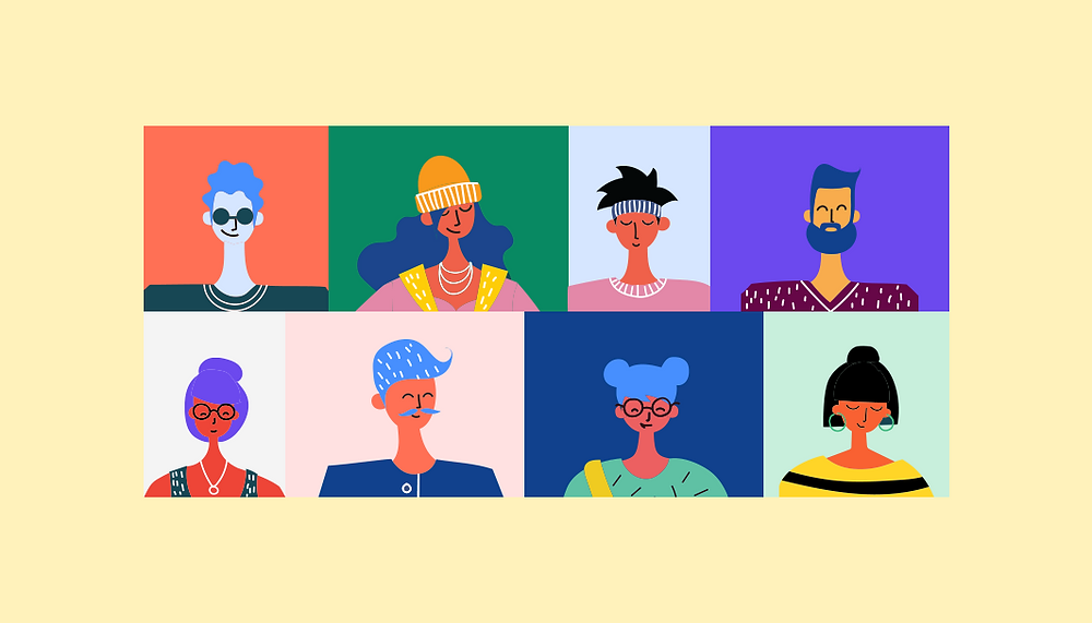 How to create a user persona illustration