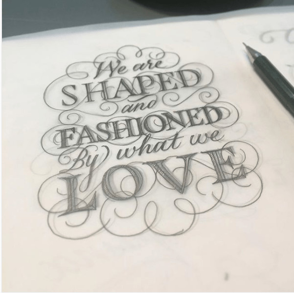 Hand lettering by Seb Lester