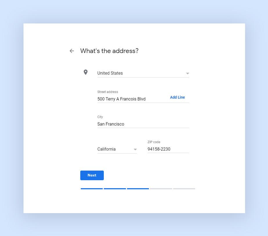 Как добавить местоположение в Google My Business