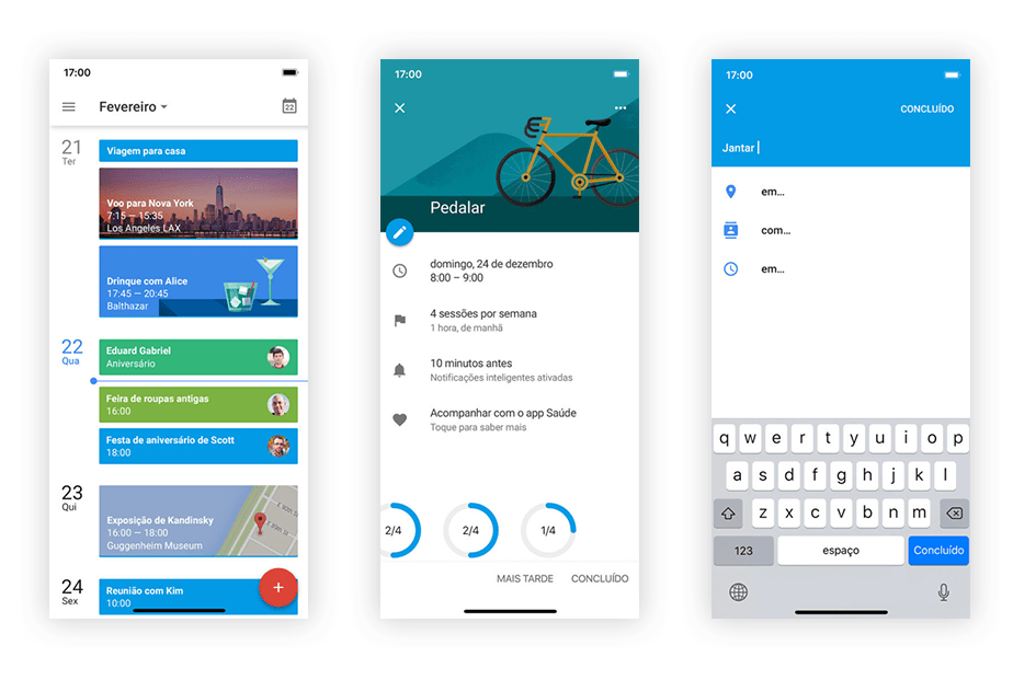 Melhores Aplicativos para Donos de Pequenas Empresas: Google Calendar