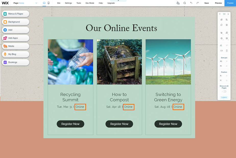 Online business toolkit: Event businesses