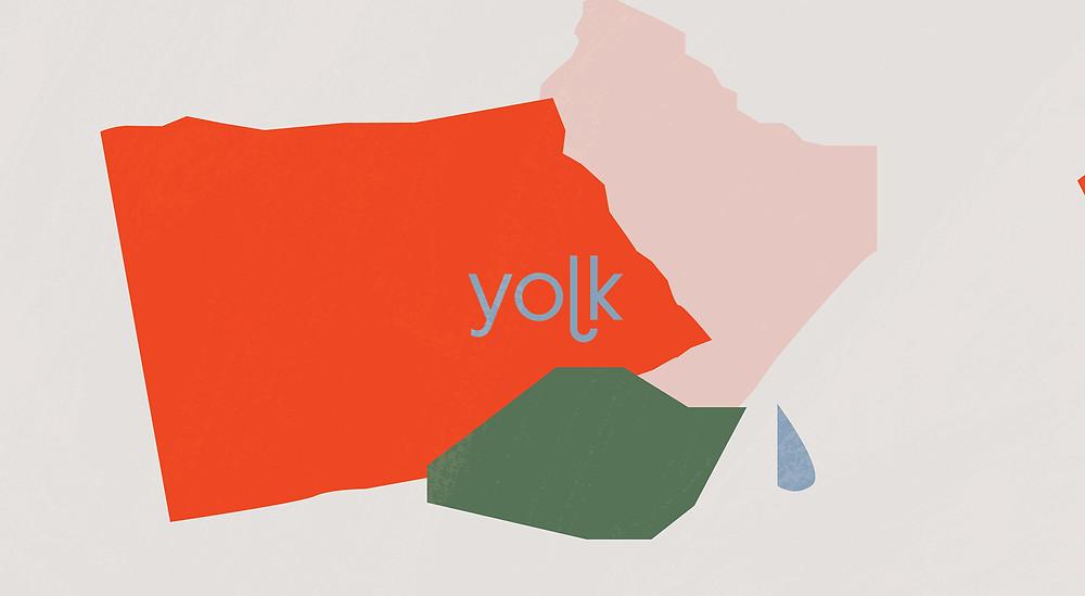 Yolk logo design by Caterina Bianchini