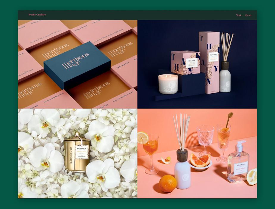 Best website design by Brooke Cavallaro