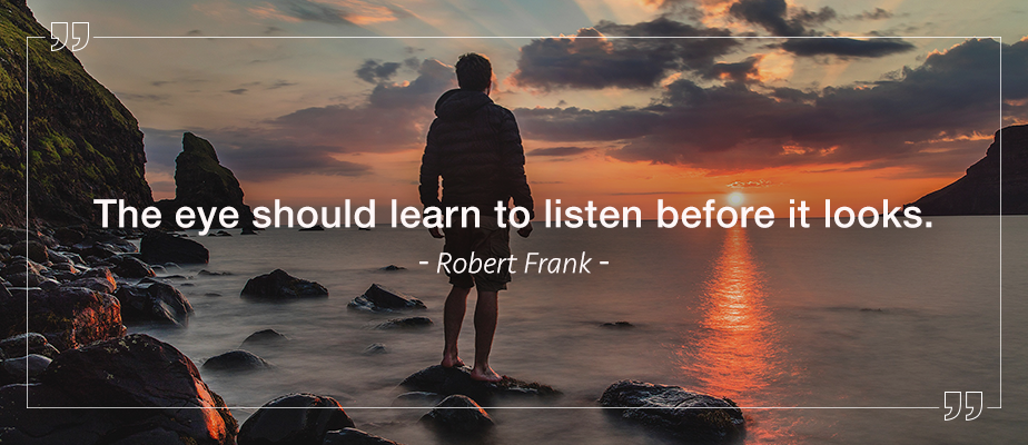 robert frank photography quote