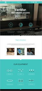 Template Wix long scrolling