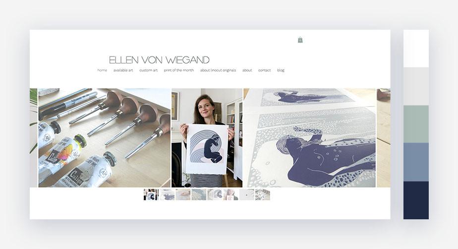 50 paletas de cores para o seu site: leve e tranquila