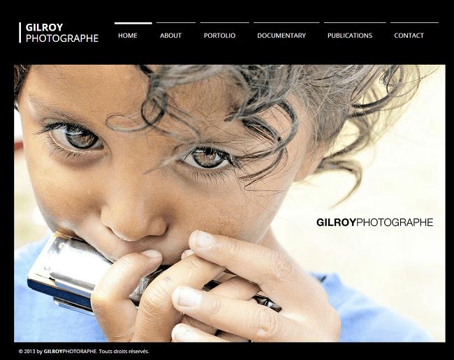 Site : Gil Roy Photographe