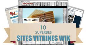 10 Superbes Sites Vitrines Créés avec Wix