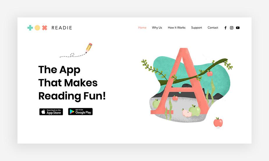 App developer – strona internetowa