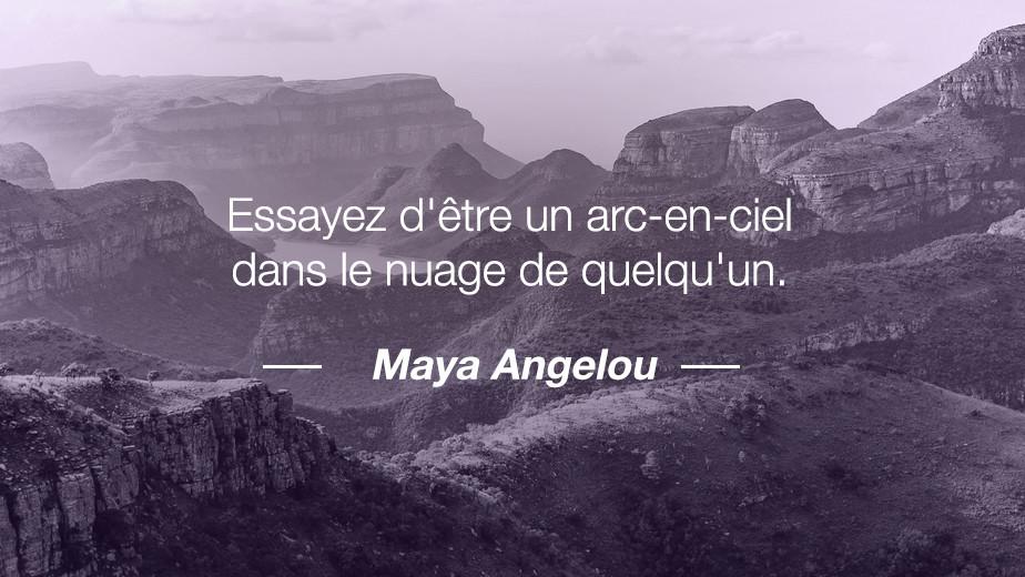 Citation Maya Angelou