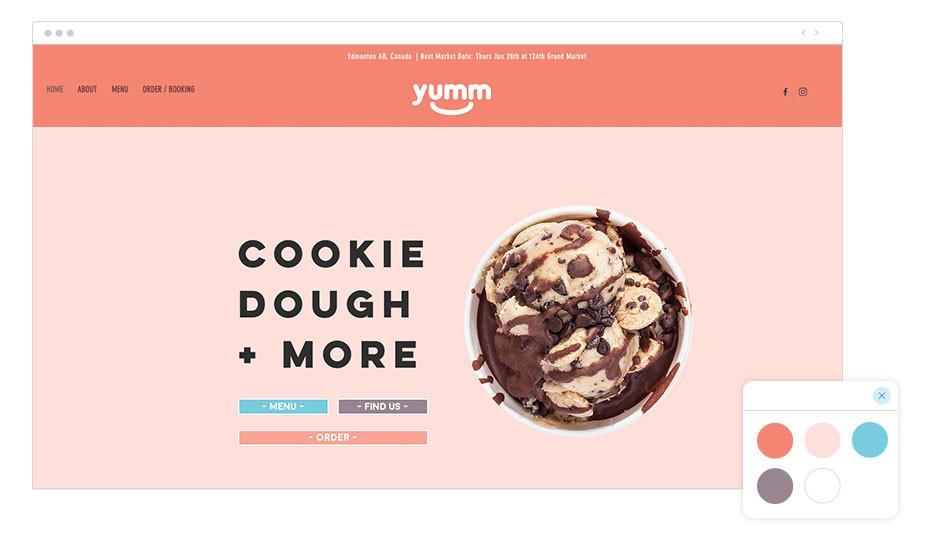 Yumm Wix website