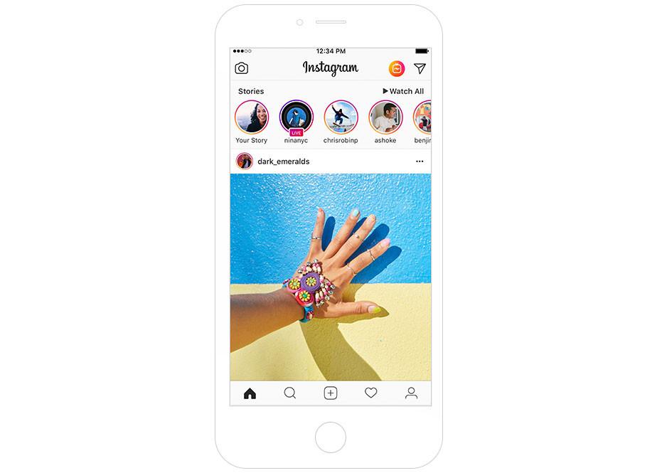 Application photographie Instagram